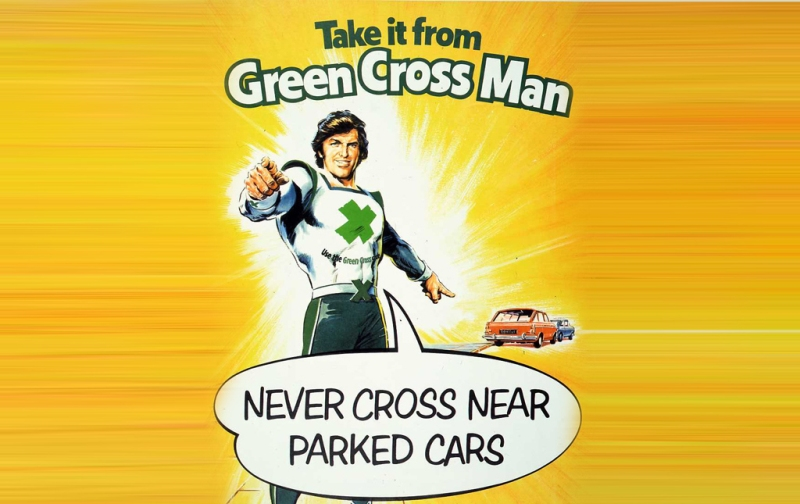 Green Cross Man