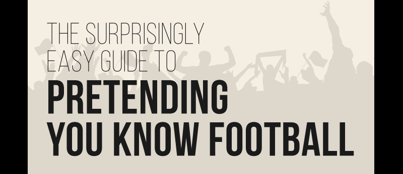 Surprisingly Easy Guide to Pretending You Know Football
