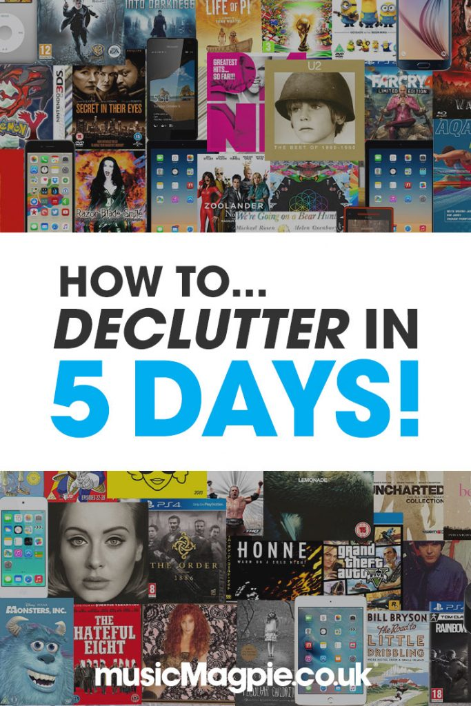 how-to-declutter-in-5-days