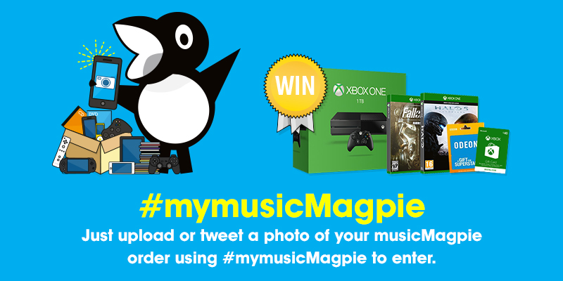 Win an Xbox One with musicMagpie