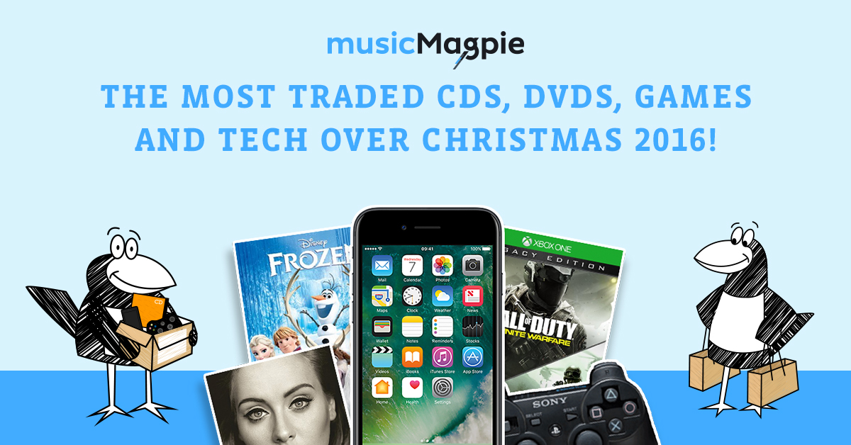 top-traded-christmas-2016-music-magpie