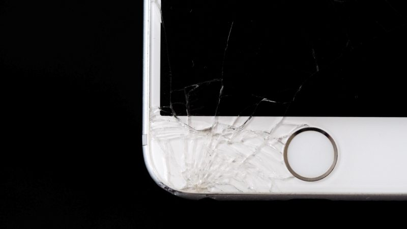Cracked iPhone 2